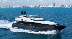 Bahamas motor yacht charter Temptation