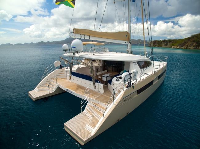 Caribbean catamaran charter XENIA 50