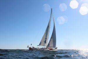 S/Y Ichiban sailing the Stockholm Archipelago