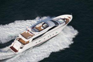 luxury motor yacht charter AURORA