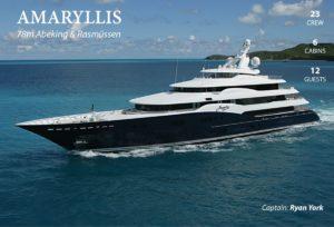Bahamas Yacht Charter AMARYLLIS