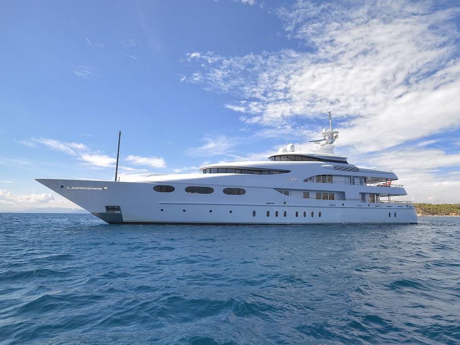 Greece motor yacht charter vacations ckim group for Motor boat rental greece