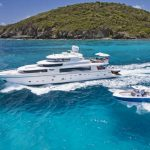Virgin Islands Motor Yacht Charter Mrs Happy |