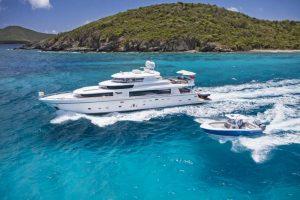 Virgin Islands Motor Yacht Charter MRS HAPPY