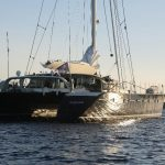 Luxury catamaran charter AZIZAM