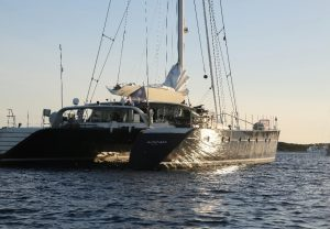 Caribbean and South Pacific catamaran yacht charter AZIZAM
