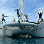Catamaran yacht charter ORION