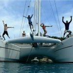 Catamaran yacht charter ORION