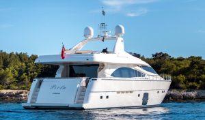 Greece motor yacht charter PIOLA
