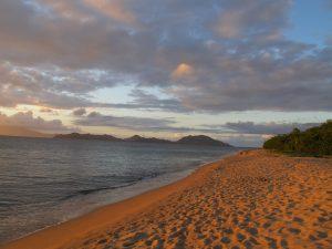 Paradise Beach on Nevis.