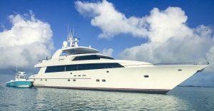 caribbean motor yacht charter specials - Legendary