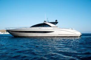 Greece motor yacht charter RIVA W