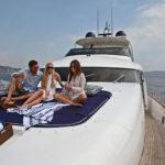 Greece motor yacht charter ASHA