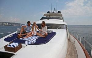 Croatia motor yacht charter ASHA
