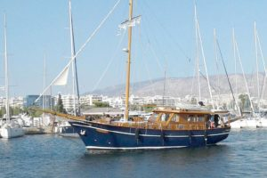 Greece sailing yacht charter AEGAES