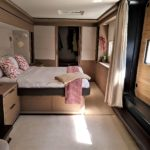 Croatia Power Catamaran Charter DOUBLE DOWN - owners suite