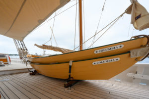 Sailing yacht Columbia New England