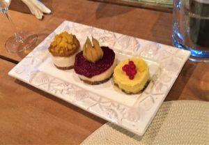 Vegan Dessert onboard Questa e Vita