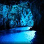 Blue Cave in Bisevo Croatia