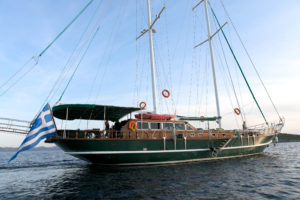 Gulet Yacht Charter MICHELE Sailing in Greece
