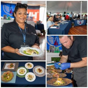 Newport Charter Yacht Show Chef Competition