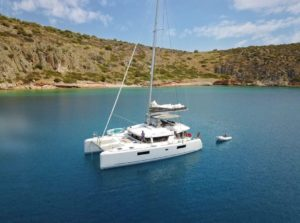 Catamaran sailing yacht VALIUM 52