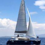 Greece catamaran New Horizons