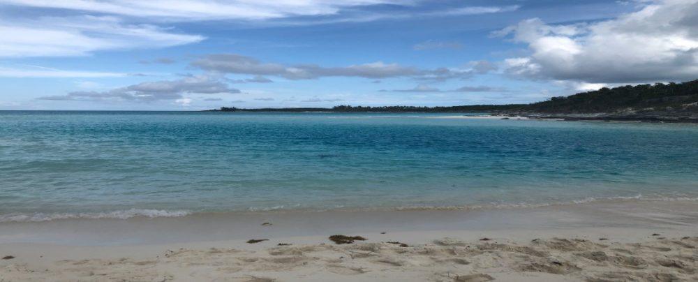 Exumas, Bahamas close to Shroud Cay