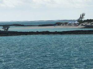 Exuma Bahamas beach picnic