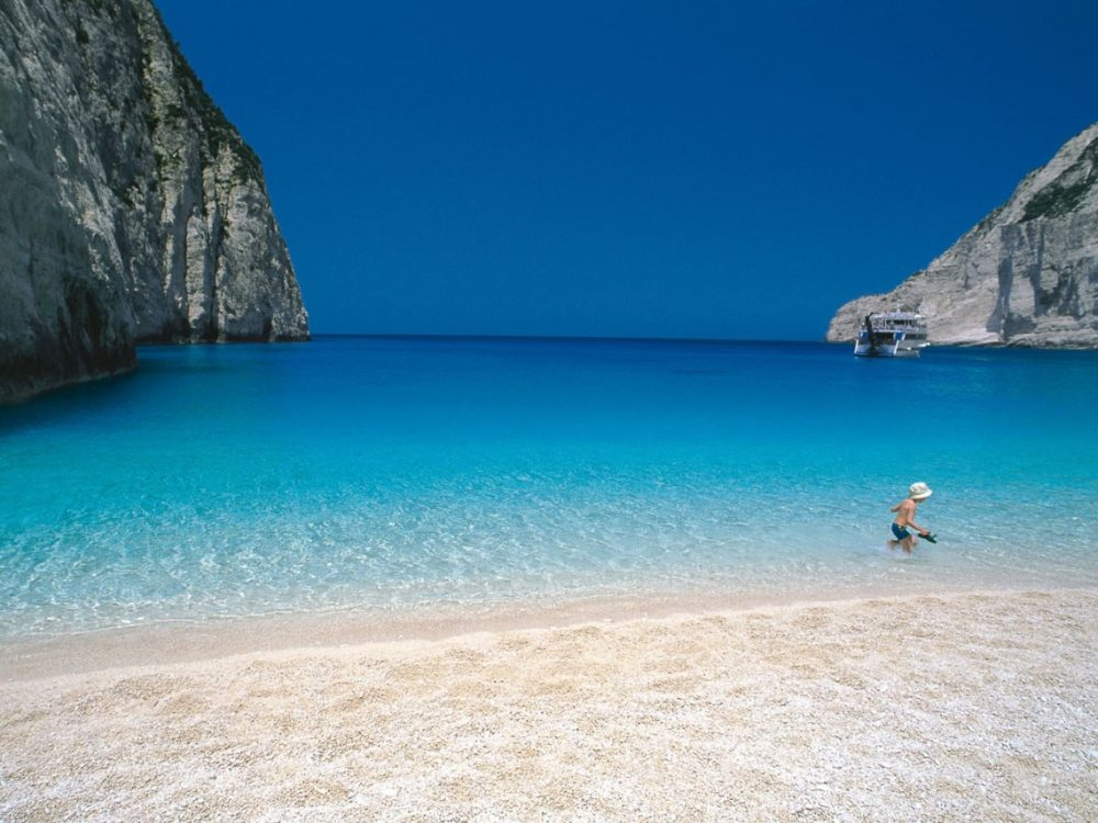 Ionian islands charter itineraries