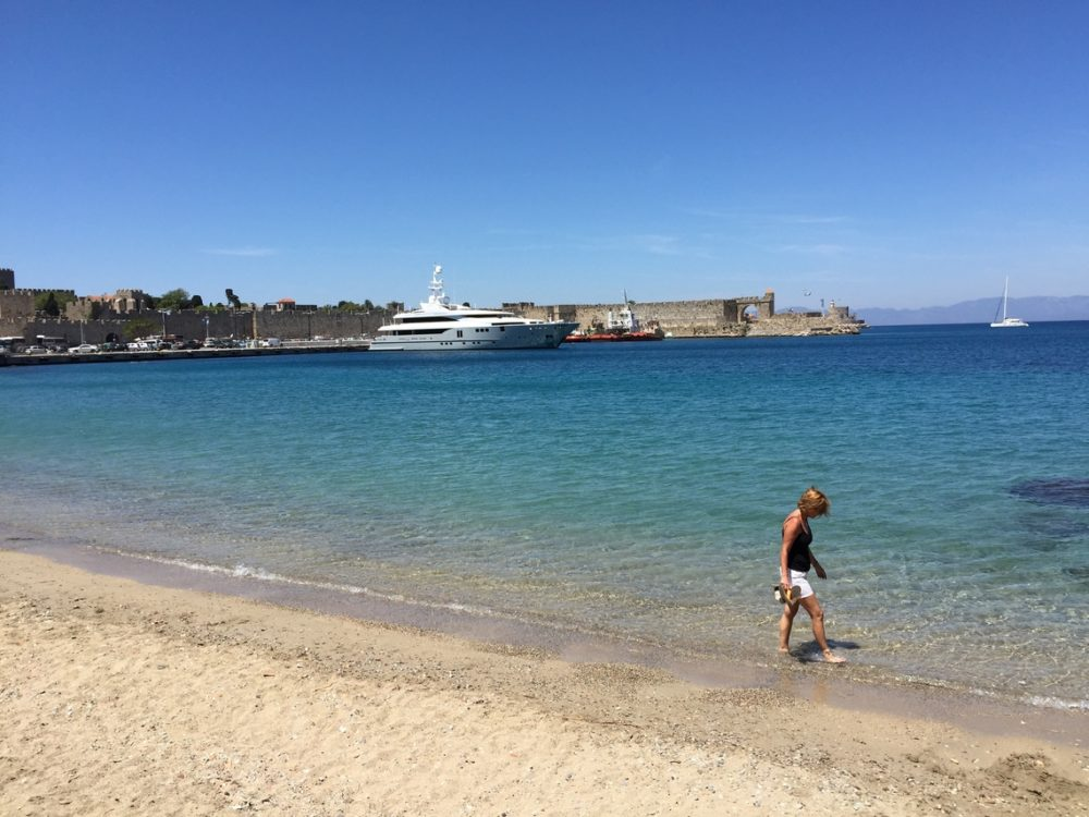 Dodecanese islands charter itineraries