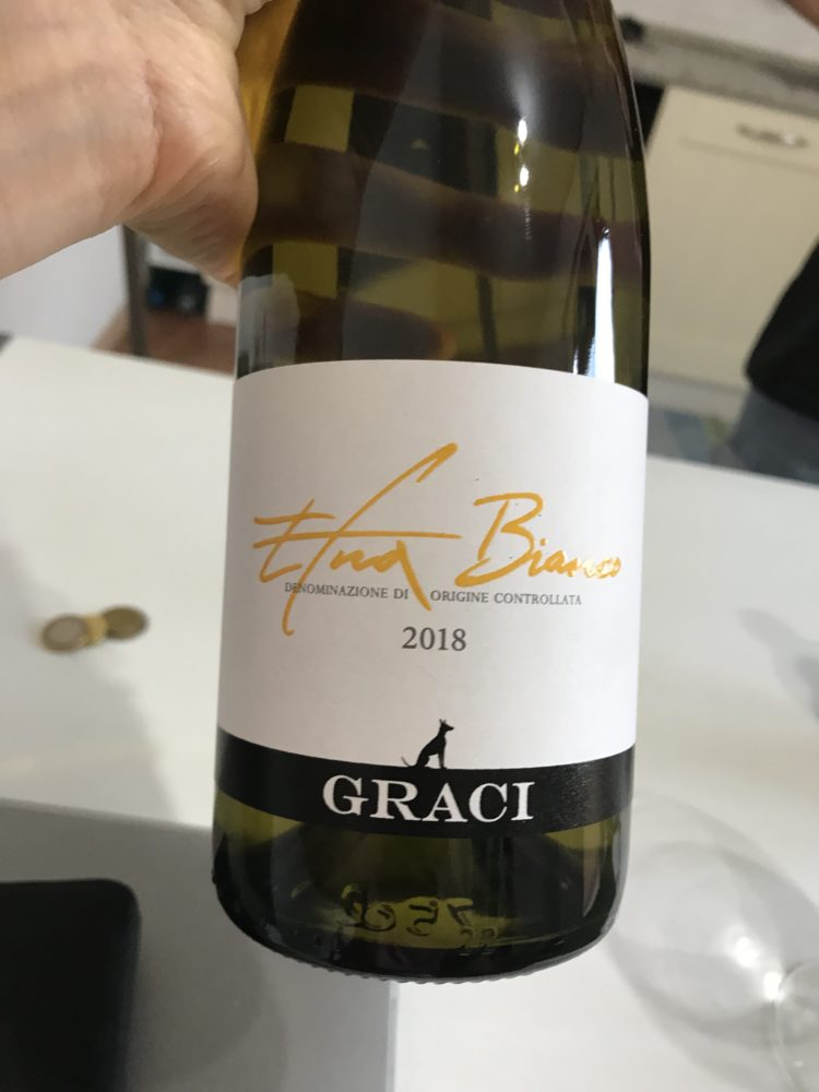 Carricante Based Etna Bianco from Graci on Mount Etna, Sicily