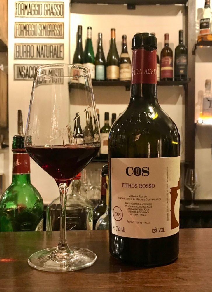 Pithos Rosso Cerasuolo di Vittoria from COS in Sicily, Italy