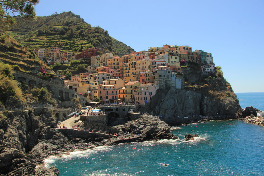 For a taste of local olive oil and wine, sail to colorful Manarola in the Cinque Terre. Discover the Italian Riviera on your next yacht charter.