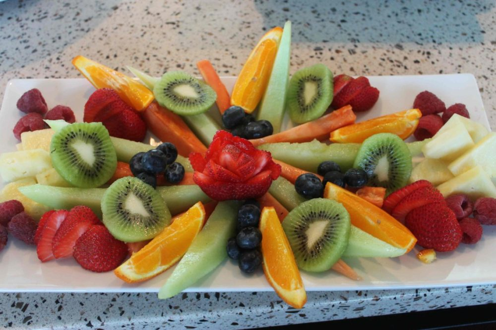 sea boss fruit platter