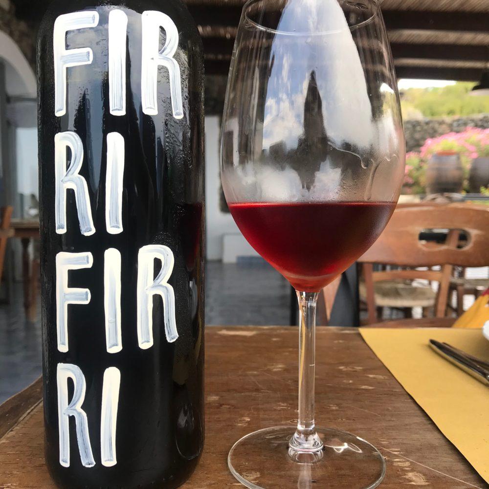 Tanca Nica's Firri Firri rosé of Pignatello and Catarratto from Pantelleria, Sicily