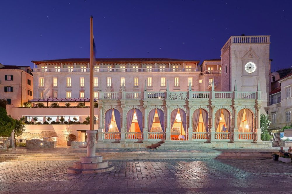 One of the Special hotels on the Croatia Islands. Palace Elisabeth Hotel