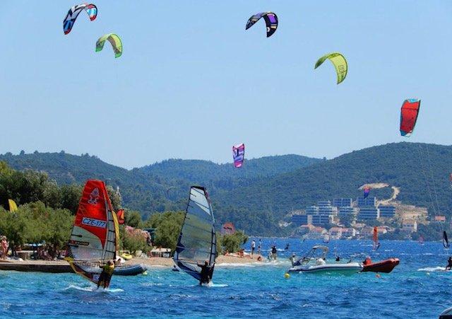 Croatia Kitesurfing and Windsurfing