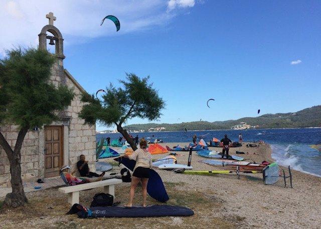 Kitesurfing Viganj