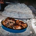 Croatia Cuisine - Peka Dish