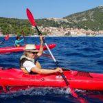 Kayaking in Hvar, Croatia