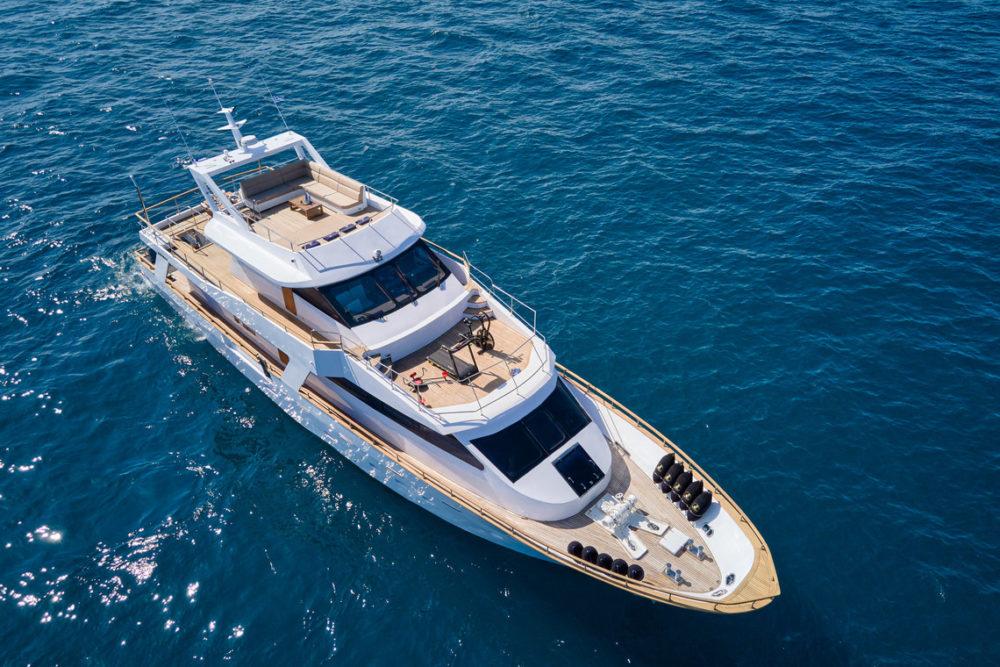 Greek motor-yacht charter wide-liberty