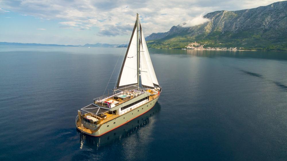 Rara Avis Motor-Sailor Yacht Charter Croatia